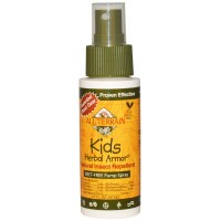All Terrain, Kids Herbal Armor, Natural Insect Repellent, Deet-Free Pump Spray, 2.0 fl oz (60 ml)