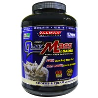 ALLMAX Nutrition, Quick Mass Loaded, Rapid Mass Gain Catalyst, Cookies &amp, Cream, 6 lbs (2.7 kg)