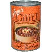 Amy's, Organic Chili, Medium with Vegetables, 14.7 oz (416 g)