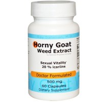 Advance Physician Formulas, Inc., Horny Goat Weed Extract, 500 mg, 60 Capsules