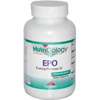 Nutricology, EPO, Evening Primrose Oil, 120 Softgels