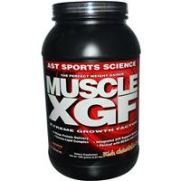 AST Sports Science, Muscle XGF, The Perfect Weight Gainer, Rich Chocolate Cream, 2.64 lb (1200 g)