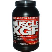 AST Sports Science, Muscle XGF, The Perfect Weight Gainer, Vanilla Ice Cream, 2.64 lbs (1200 g)