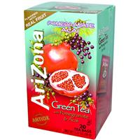 AriZona, Green Tea, with Pomegranate & Acai, 20 Tea Bags, 1.37 oz (38 g)