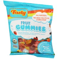 Tasty Brand, Fruit Gummies, Mixed Fruit Flavors, 2.75 oz (78 g)