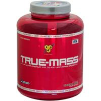 BSN, True Mass, Powdered Mass Gainer Drink Mix, Chocolate Milk Shake, 5.75 lbs (2610 g)