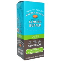 Barney Butter, Almond Butter, On the Go Snack Pack, Smooth, 6 Packets, 0.6 oz (17 g)