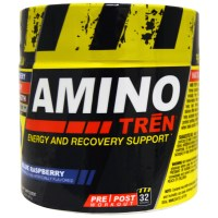 Con-Cret, Amino Tren, Energy and Recovery Support, Blue Raspberry, 5.8 oz (164 g)