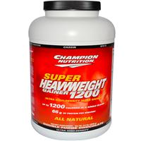 Champion Nutrition, Super Heavyweight Gainer 1200, Double Fudge Chocolate, 6.6 lbs (3000 g)
