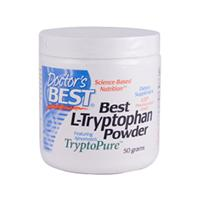 Doctor's Best, Best L-Tryptophan Powder, 50 g