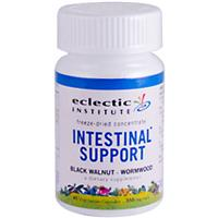 Eclectic Institute, Intestinal Support (Black Walnut Wormwood), 350 mg, 45 Veggie Caps