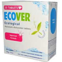 Ecover, Ecological Automatic Dishwasher Tablets, 25 Tablets, 17.6 oz (500 g)