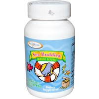 Enzymatic Therapy, Sea Buddies, Immune Defense, 60 Chewable Sparkleberry Tablets