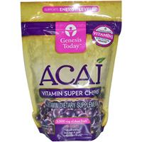 Genesis Today, Acai, Vitamin Super Chews, 30 Soft Chews
