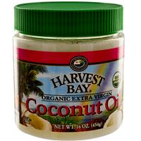 Harvest Bay, Organic Extra Virgin Coconut Oil, 16 oz (454 g)