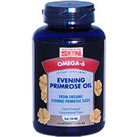 Health From The Sun, Organic, Evening Primrose Oil, 1,300 mg, 60 Softgels