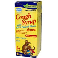 Hyland's, Cough Syrup 4 Kids, with 100% Natural Honey, 4 fl oz (118 ml)