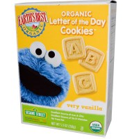Earth's Best, Organic Letter of the Day Cookies, Very Vanilla, 5.3 oz (150 g)