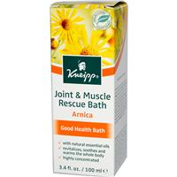 Kneipp, Joint & Muscle Rescue Bath, Arnica, 3.4 fl oz (100 ml)