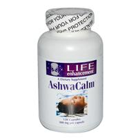 Life Enhancement, AshwaCalm, 300 mg, 120 Capsules