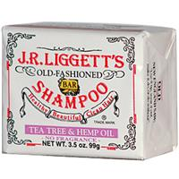 J.R. Liggett's, Old Fashioned Bar Shampoo, Tea Tree &amp, Hemp Oil, 3.5 oz (99 g)