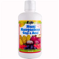 Life Time, Noni Mangosteen Goji &amp, Acai Blend, 32 fl oz (946 ml)