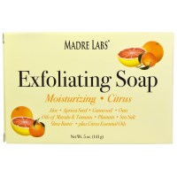 Madre Labs, Exfoliating Soap Bar, with Shea Butter, Marula &, Tamanu, Citrus, 5 oz (141 g)