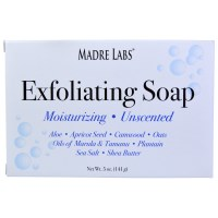Madre Labs, Exfoliating Soap Bar, with Shea Butter, Marula &, Tamanu, Unscented, 5 oz (141 g)