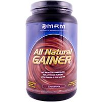 MRM, All Natural Gainer, Chocolate, 3.3 lbs. (1512 g)