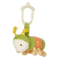 Greenpoint Brands, My Natural, Clip n Go Toy Collection, Secret Garden, Caterpillar, 1 Toy
