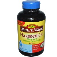 Nature Made, Flaxseed Oil, 1000 mg, 180 Liquid Softgels