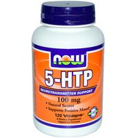 Now Foods, 5-HTP, 100 mg, 120 Vcaps