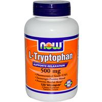 Now Foods, L-Tryptophan, 500 mg, 120 Veggie Caps