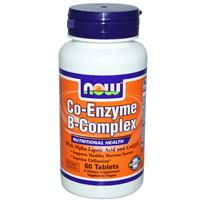 Now Foods, Co-Enzyme B-Complex, 60 Tablets