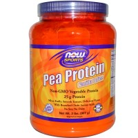 Now Foods, Sports, Pea Protein, Powder, Vanilla Toffee, 2 lbs (907 g)