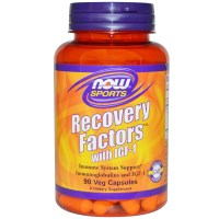 Now Foods, Sports, Recovery Factors with IGF-1, 90 Veggie Caps
