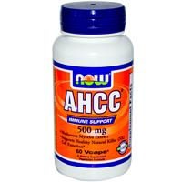 Now Foods, AHCC, Immune Support, 500 mg, 60 Vcaps