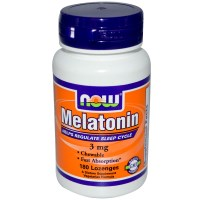 Now Foods, Melatonin, 3 mg, 180 Lozenges
