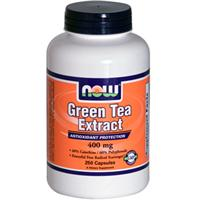 Now Foods, Green Tea Extract, 400 mg, 250 Capsules