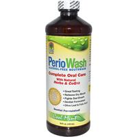 Nature's Answer, PerioWash Alcohol-Free Mouthwash, Cool Mint, 16 fl oz (480 ml)