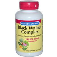 Nature's Answer, Black Walnut, Herbal Combination, 1500 mg, 90 Veggie Caps