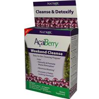 Natrol, AcaiBerry, Weekend Cleanse, 3 Part Program