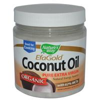 Nature's Way, Organic Coconut Oil, 16 oz (454 g)