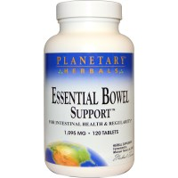 Planetary Herbals, Essential Bowel Support, 120 Tablets