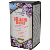 ReserveAge Nutrition, Collagen Booster, with Hyaluronic Acid and Resveratrol, 60 Capsules
