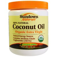Rexall Sundown Naturals, Organic Coconut Oil, 16 oz