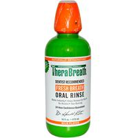 TheraBreath, Fresh Breath, Oral Rinse, Mild Flavor, 16 fl oz (473 ml)