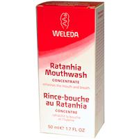 Weleda, Ratanhia Mouthwash Concentrate, 1.7 fl oz (50 ml)